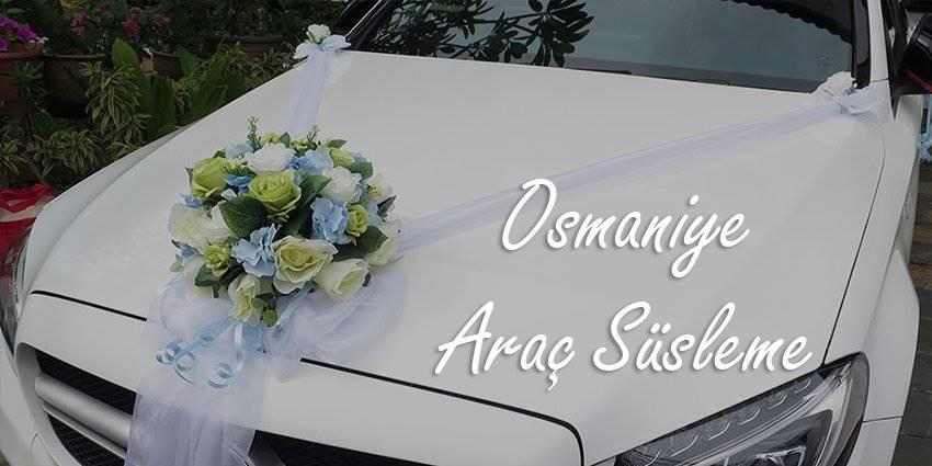 Osmaniye Gelin Arabası Süsleme